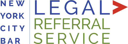 New York City Bar - Legal Referral Service Logo