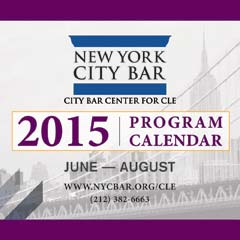 CLE june-aug 2015 program calendar