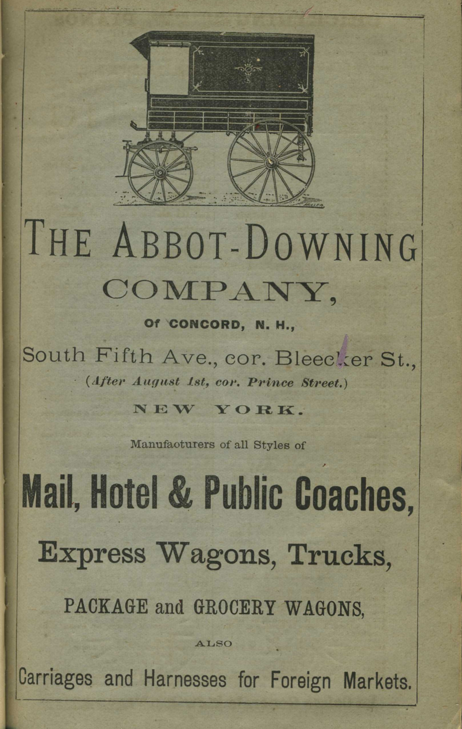 abbott downing